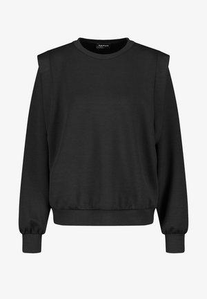 RUNDHALS  MIT SCHULTERBETONUNGRUNDHALS  - Sweater - black