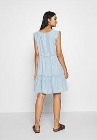 Superdry - TINSLEY TIERED DRESS - Denim dress - indigo light - 2