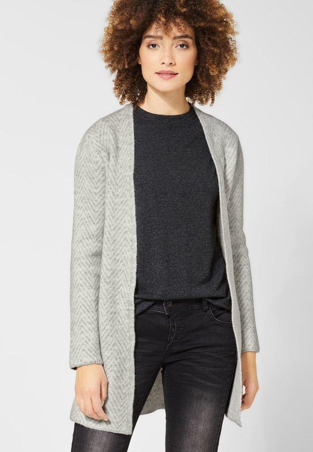 MIT MUSTER - Cardigan - grey
