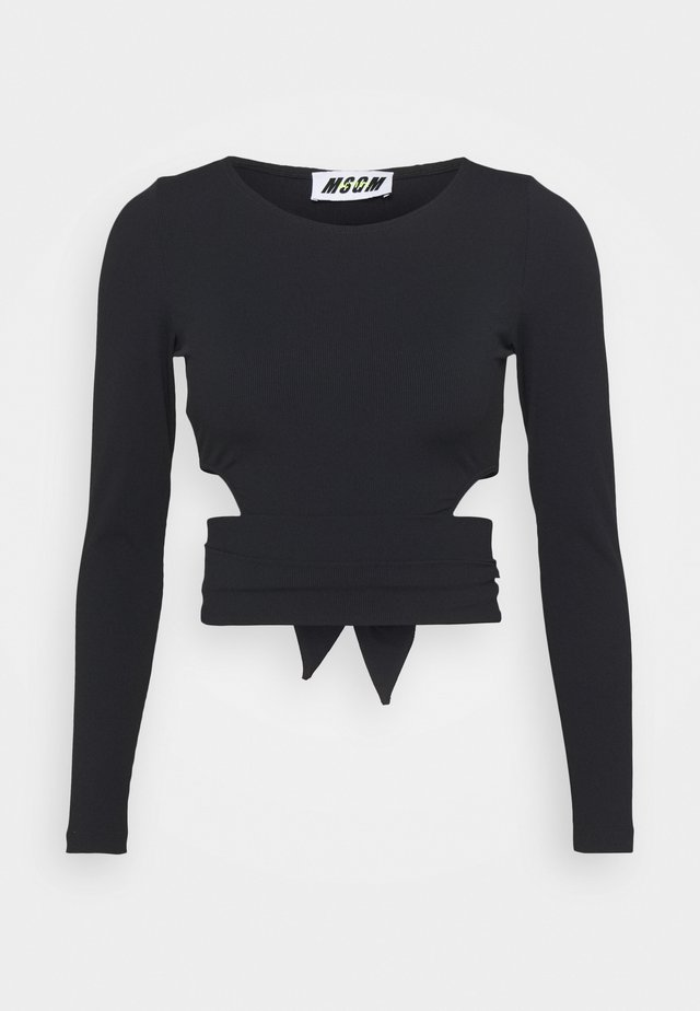 FELPA - T-shirt à manches longues - black