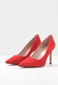 HUGO - INES  - Lodičky na vysokém podpatku - bright red - 4