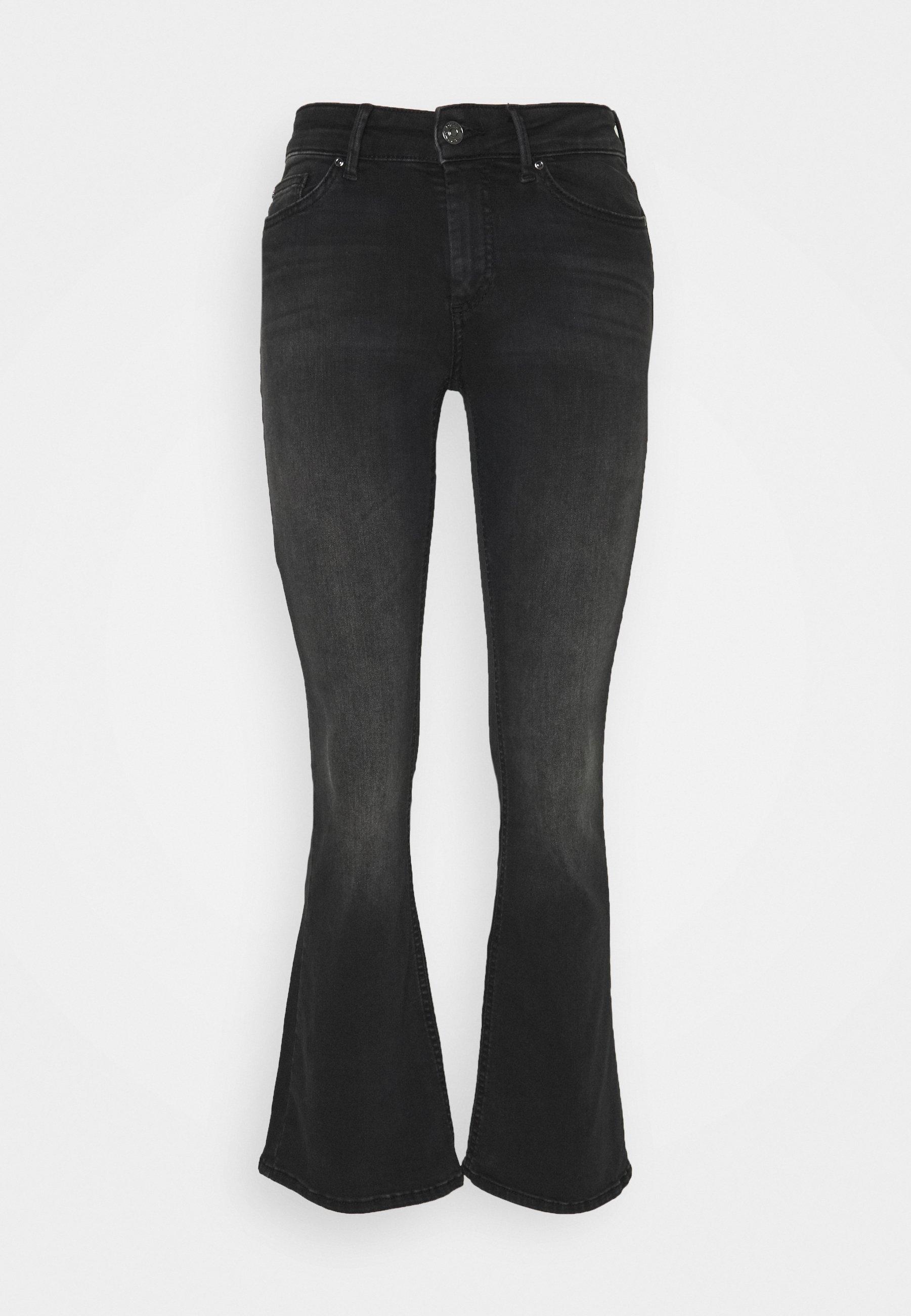 Women ONLBLUSH LIFE MID  - Flared Jeans