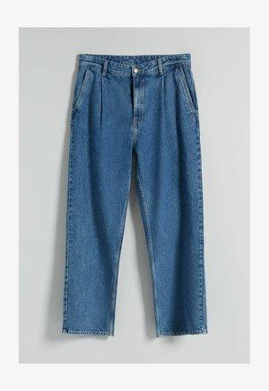 WIDE LEG - Straight leg jeans - blue