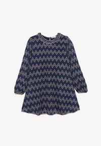 Missoni Kids - DRESS - Pletené šaty - blue - 3
