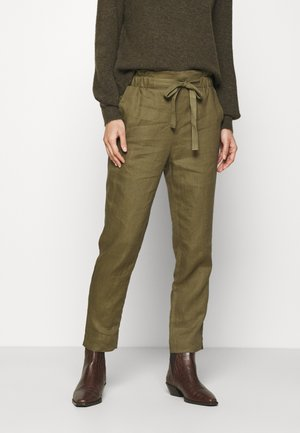 ESSENTIAL - Trousers - burnt olive