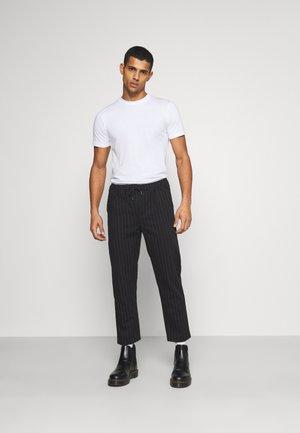 5 PACK  - T-shirt basic - olive night melange/bordeaux melange
