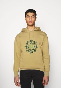 Han Kjøbenhavn - ARTWORK HOODIE - Hoodie - faded tan - 0