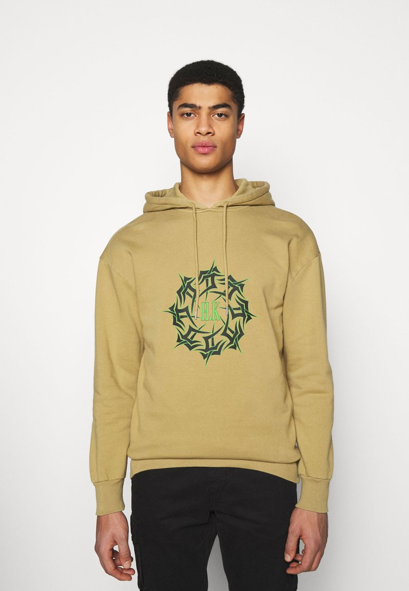 Han Kjøbenhavn - ARTWORK HOODIE - Hoodie - faded tan