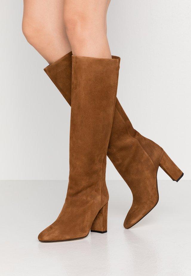 CALIME - Stivali con i tacchi - marron