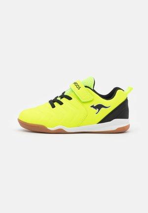 SPEED COMB - Trainers - neon yellow/jet black