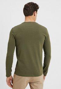 Benetton - BASIC CREW NECK - Bluzka z długim rękawem - olive - 2