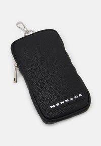 Mennace - CHAIN DOUBLE BAG SET UNISEX - Taška spříčným popruhem - black - 3