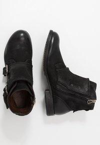 A.S.98 - CLASH - Cowboy/biker ankle boot - nero - 1
