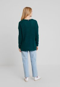 Tommy Hilfiger - ESSENTIAL CABLE - Maglione - green - 2