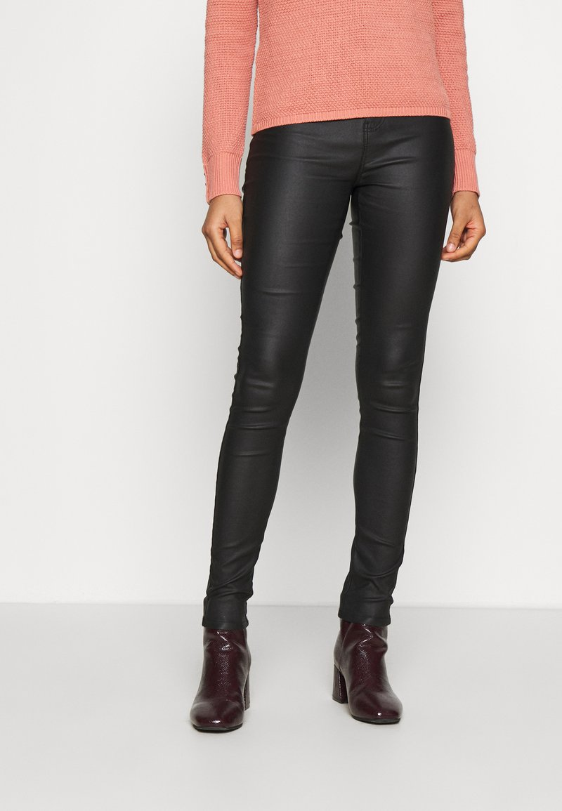 ONLY - ONLORLEEN ULTRA ROCK PANT - Trousers - black