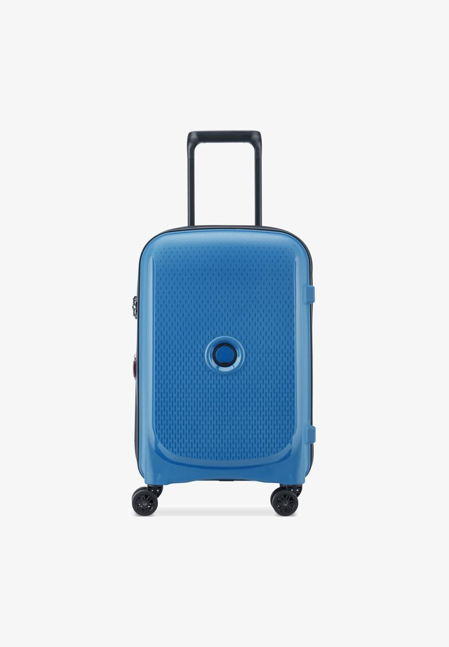Wheeled suitcase - zink blau