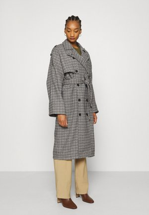 MARIA COAT - Mantel - black/blue