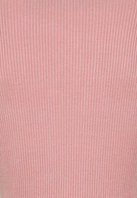 Missguided - HIGH NECK MINI DRESS - Jumper dress - pink - 2