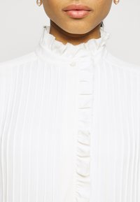 Tory Burch - DENEUVE BLOUSE - Blůza - new ivory - 4