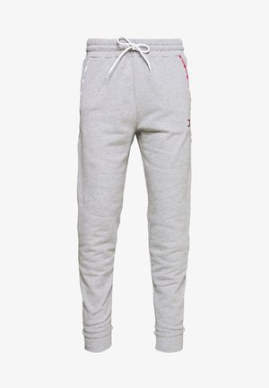 PIPING CUFFED PANT - Tracksuit bottoms - grey