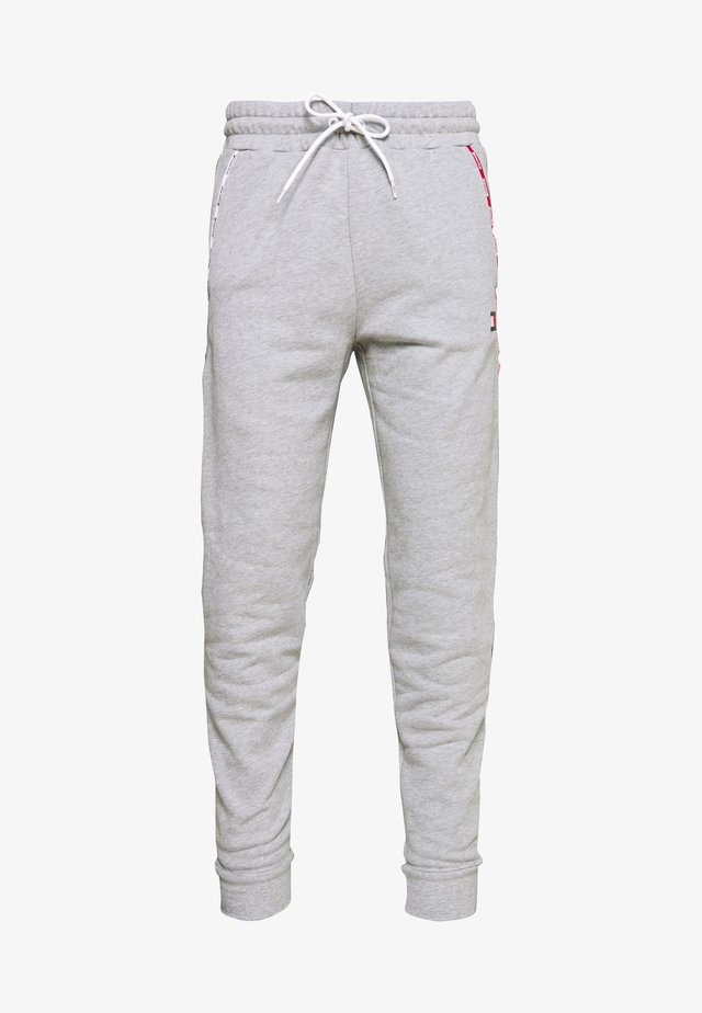 PIPING CUFFED PANT - Pantalon de survêtement - grey