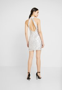 Lace & Beads - NADIA MINI - Cocktail dress / Party dress - silver - 3