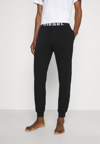 Diesel - UMLB-JULIO PANTALONI - Pyjama bottoms - black - 0