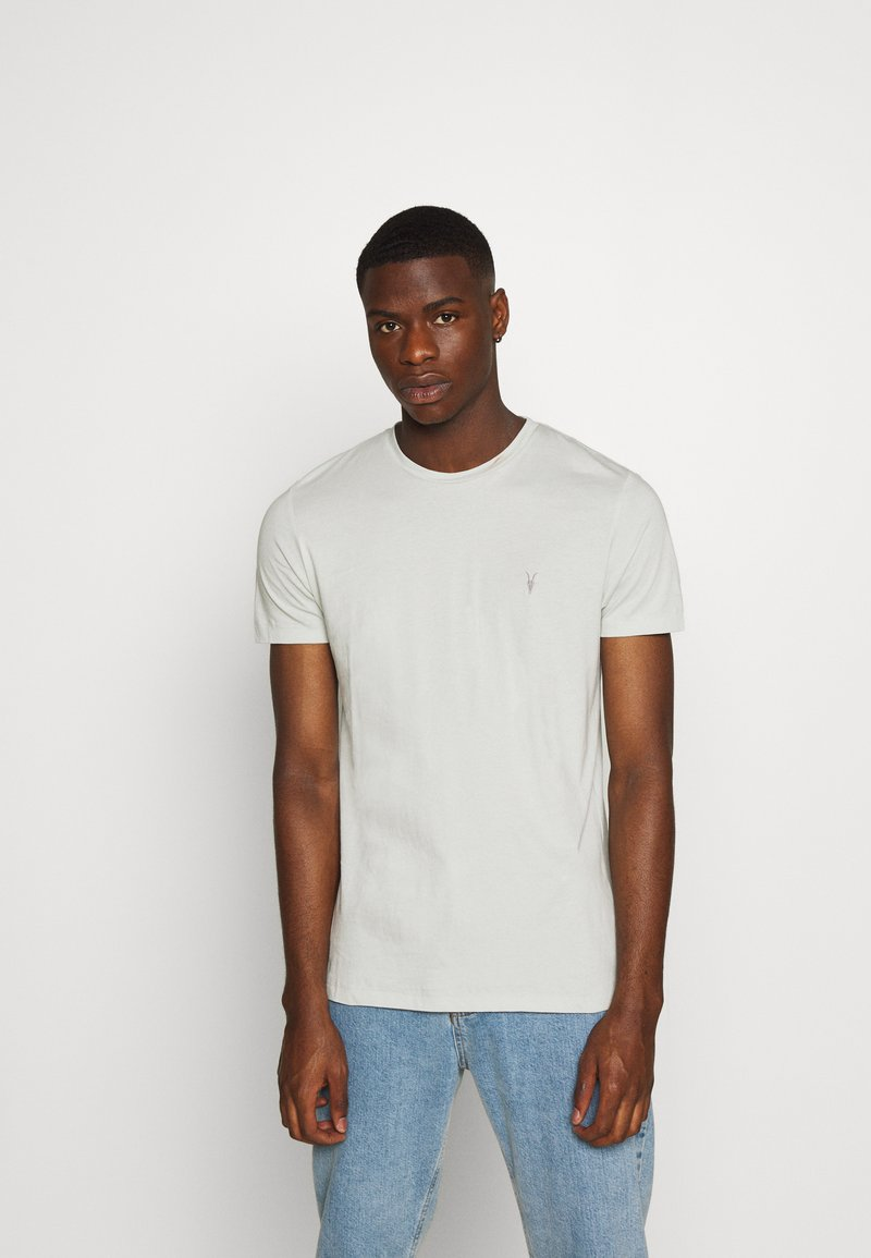 AllSaints - TONIC CREW - T-shirts basic - willow green