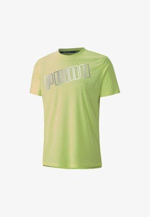 T-Shirt print - fizzy yellow