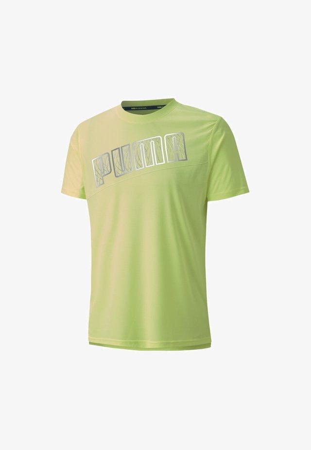 Print T-shirt - fizzy yellow