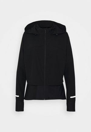 FAST TRACK RUNNING - Sports jacket - black