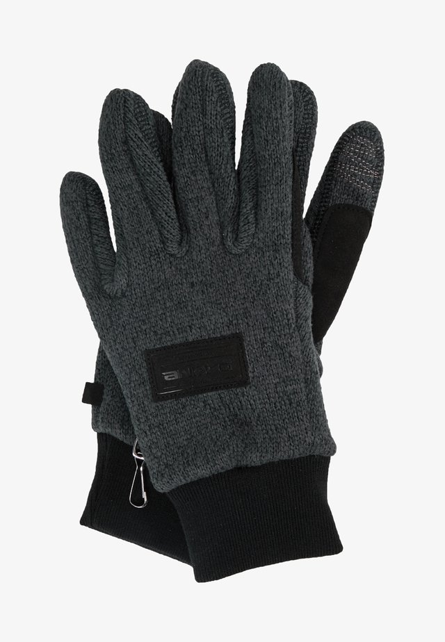 PATRIOT GLOVE - Sormikkaat - gunmetal