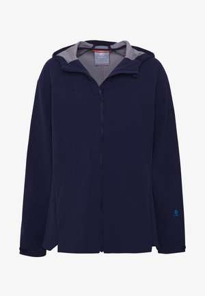 SAPUEN  - Soft shell jacket - peacoat