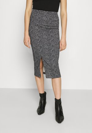 PENCIL - Pencil skirt - black