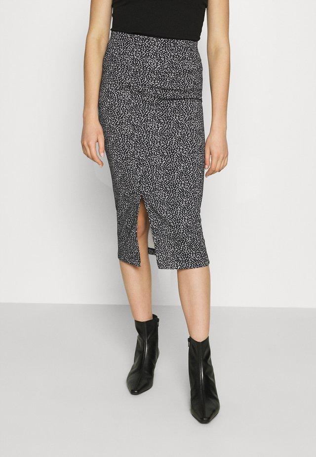 PENCIL - Pencil skirt - black