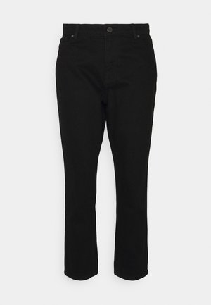 ONLJAGGER LIFE MOM - Relaxed fit jeans - black