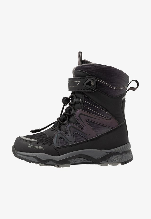 LORIUS SYMPATEX - Winter boots - black/grey