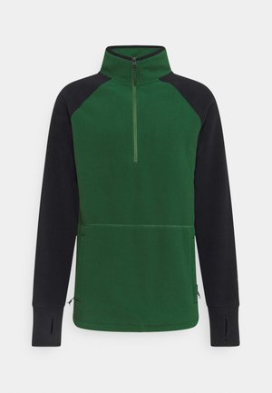 POLARTEC ZIP - Sweat polaire - forest
