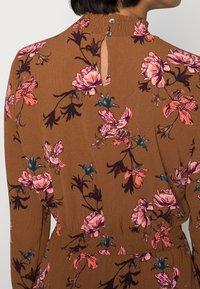 ONLY - ONLNOVA LUX SMOCK DRESS - Kjole - argan oil/fall devon - 4