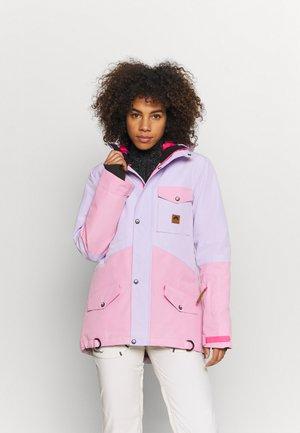 1080 WOMEN'S JACKET  - Lyžařská bunda - pink/lilac