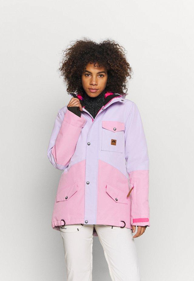 1080 WOMEN'S JACKET  - Laskettelutakki - pink/lilac
