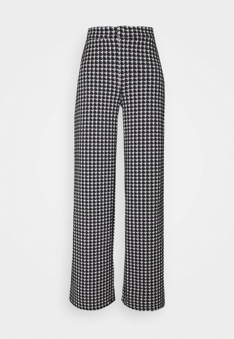Noisy May Tall - NMHOUND PANT - Bukse - black/white