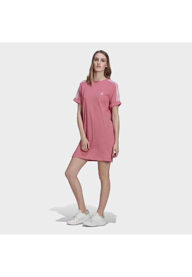 TEE DRESS - Žerzejové šaty - rose tone