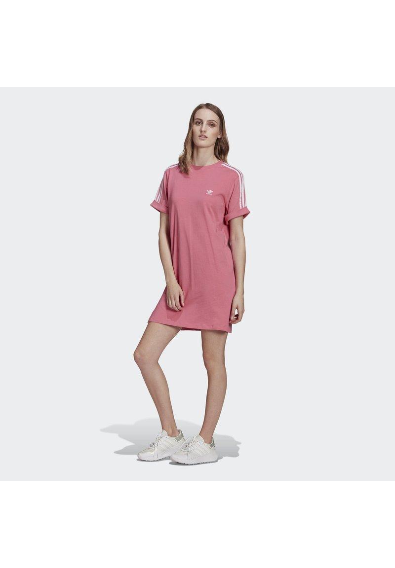 adidas Originals - TEE DRESS - Jersey dress - rose tone