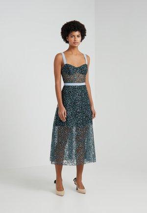 EDEN BUSTIER DRESS - Occasion wear - blue