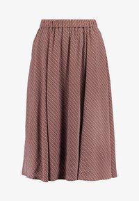 And Less - ABIRA SKIRT - A-line skirt - henna - 4