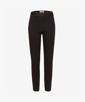 STYLE LILLYTH - Trousers - dark brown