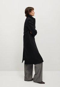 Mango - Classic coat - noir - 3
