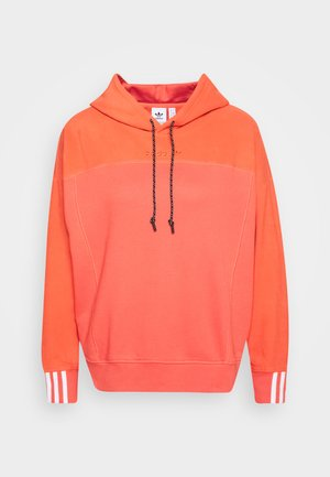 SPORTS INSPIRED LOOSE HOODED  - Kapuzenpullover - coral