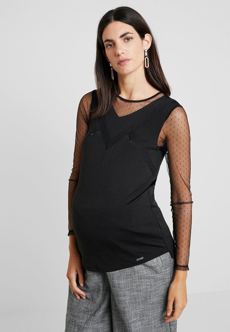 ohma! - NURSING - Bluzka z długim rękawem - black